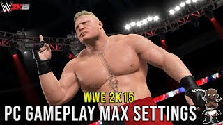 WWE 2K15 PC Gameplay - Undertaker Vs Triple H - 1080P/60FPS - Max Settings - i7-3770K - GTX 780Ti