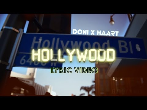DONI x HAART - Hollywood (Текст песни)[Lyric video]
