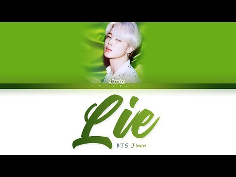 BTS Jimin - Lie (방탄소년단 지민 - Lie) [Color Coded Lyrics/Han/Rom/Eng/가사]
