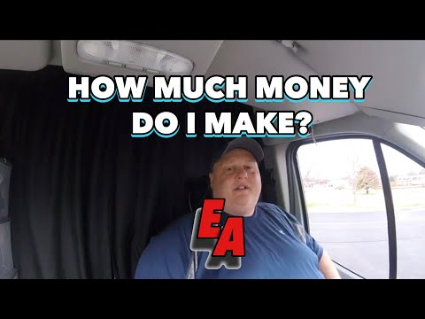 HOW MUCH MONEY DO I MAKE EXPEDITING IN A VAN?