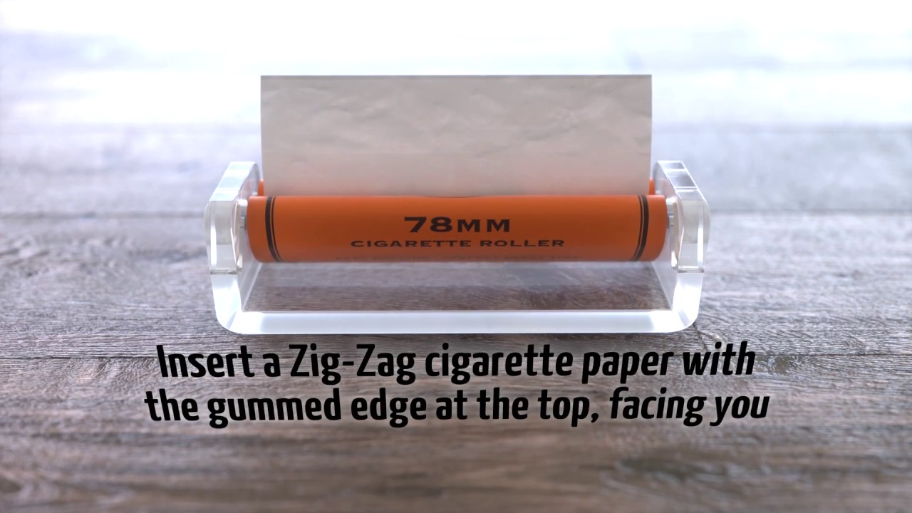 How to Use a Cigarette Roller