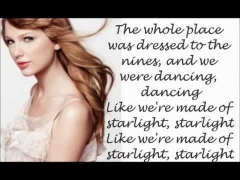 Taylor Swift -Starlight lyrics video