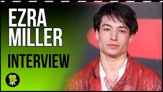'Fantastic Beasts': Ezra Miller shares his favorite 'Harry Potter' fan memory