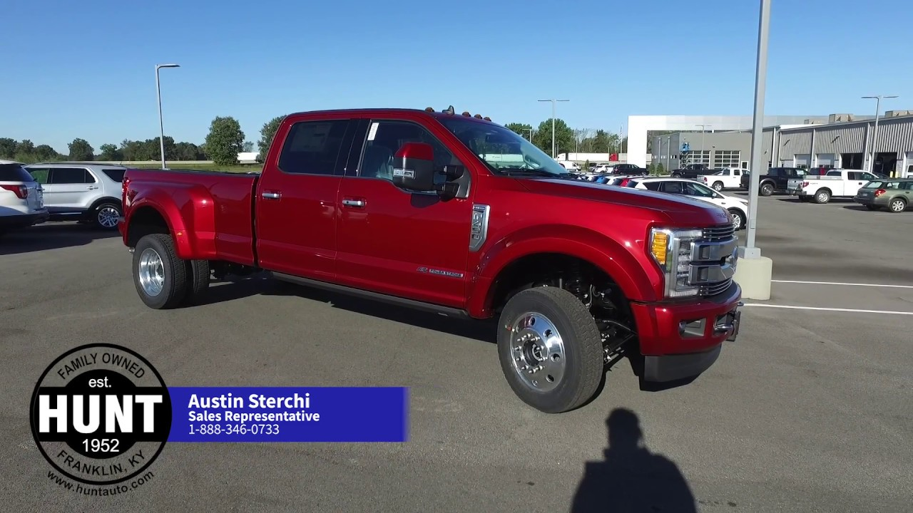 2019 F450 Limited Ruby Red - YouTube