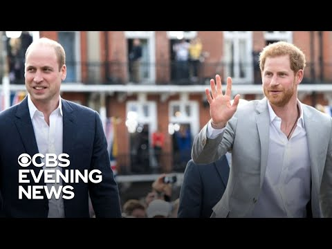 Harry and William will not walk side-by-side at Prince Philip's funeral