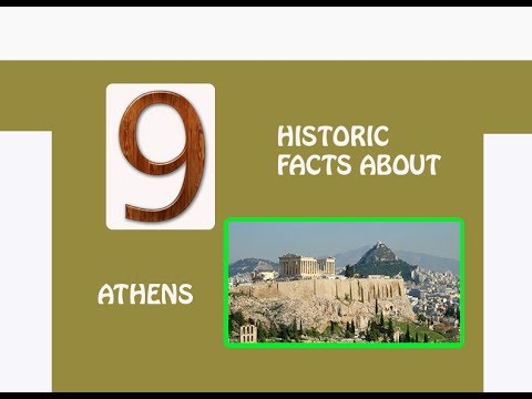 9 HISTORICAL FACTS YOU DIDN'T KNOW ABOUT ATHENS