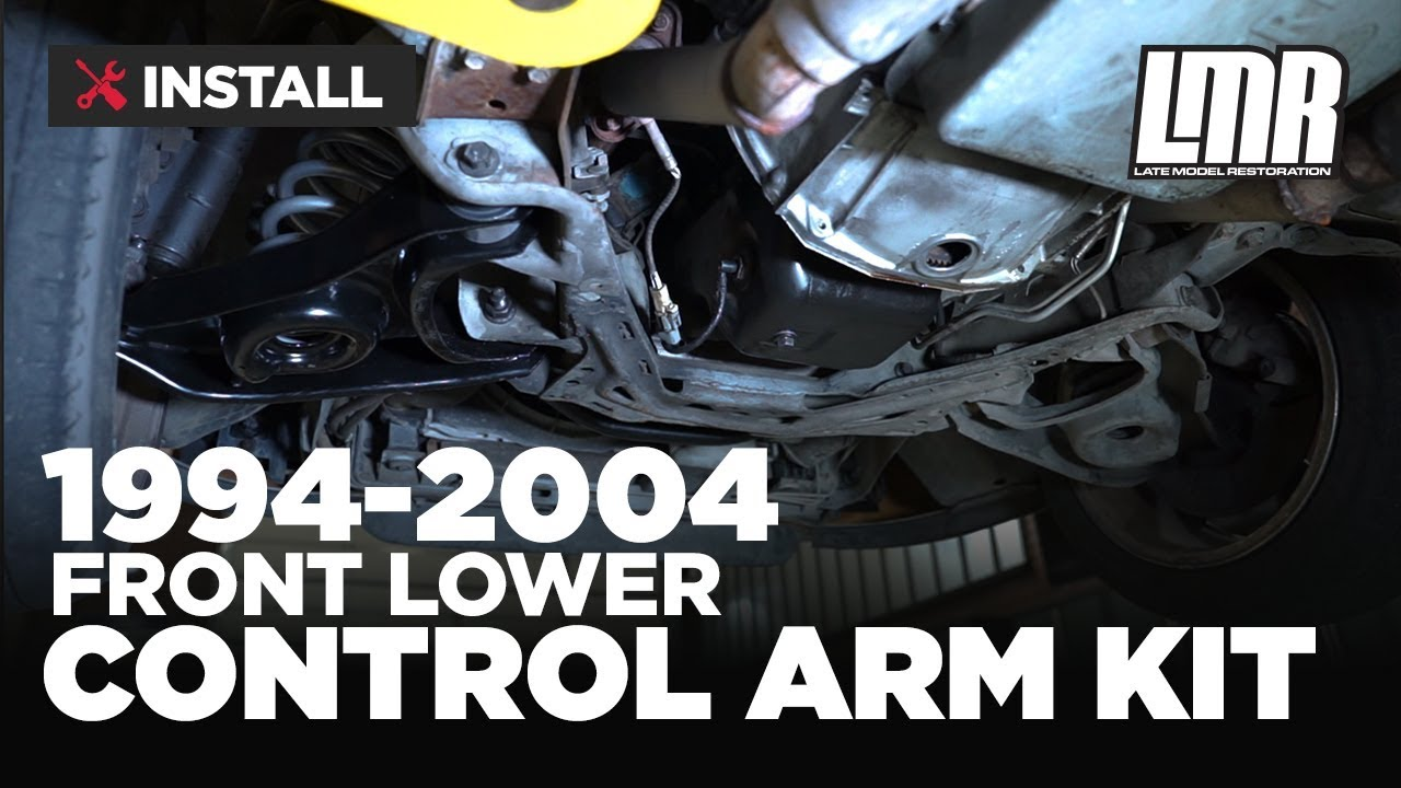 1994 2004 Mustang Front Lower Control Arm Kit Install Review 1993 Wiring Harness Diagram