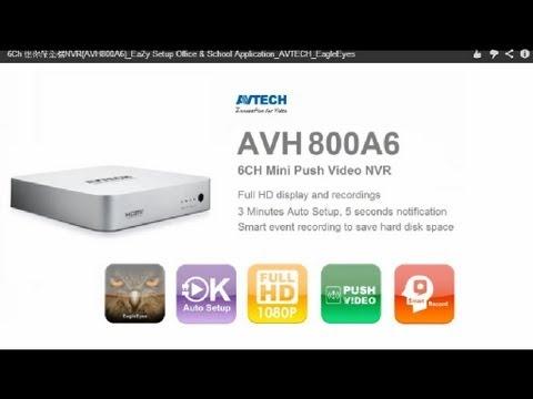 AVTECH AVH800A6 NVR Windows