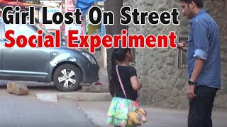 Girl Lost On Street - What Will You Do? - Social Experiment - Funk You (Prank in India)