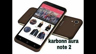 karbonn aura note 2 review