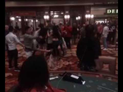 Baccarat Players Fighting in Ameristar Casino Kansas City