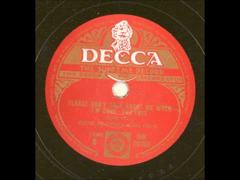 Eddie Heywood and his orchestra - Please don´t talk about me when I´m gone