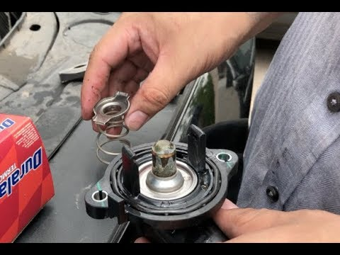 2014 dodge chalenger thermostat replacement