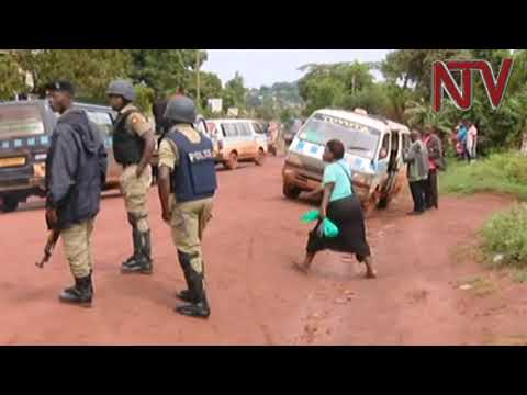 That moment when Bobi Wine was grabbed and arrested