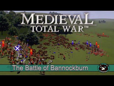 Medieval Total war The battle of Bannockburn |