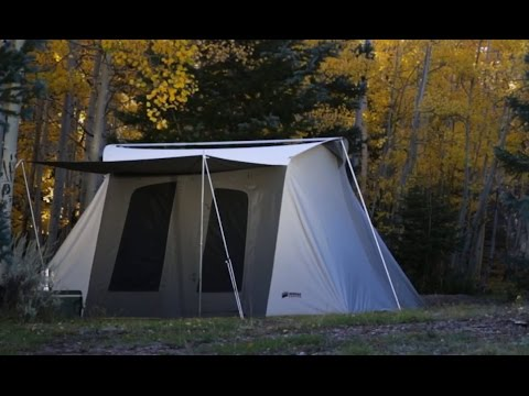 Kodiak Canvas Flex bow Tent & Kodiak Canvas Flex bow Tent - YouTube