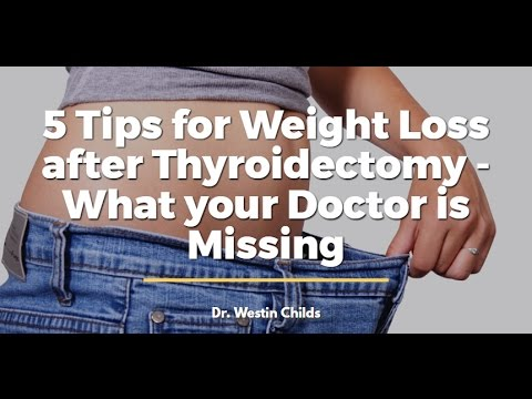 5 Tips for Weight Loss after Thyroidectomy: What your Doctor is Missing