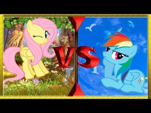 Первые бои в Fighting Is Magic [Земные пони на 20% круче]