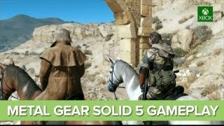 Metal Gear Solid 5 Gameplay at E3 2013 - Metal Gear Solid 5: The Phantom Pain