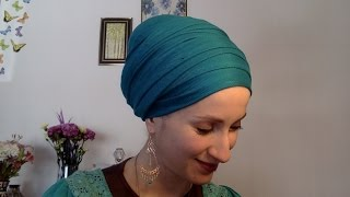 Wrapunzel Regal Wrap ~ Beginner's Essential! ~ Tuck, Turban, Tie, Tichel!