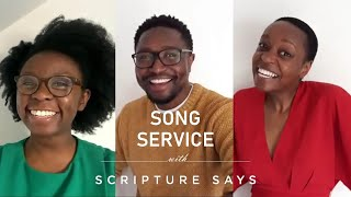 My best friend / What a friend we have in Jesus worship medley - Song Service with Scripture Says