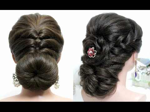 2 easy hairstyles for long hair Video tutorial