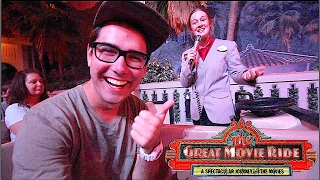 DID SHE REALLY  SAY THAT ON THE GREAT MOVIE RIDE? | DCP SPRING 2017