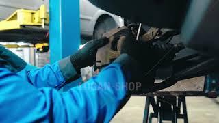 Renault Duster- замена передних тормозных колодок