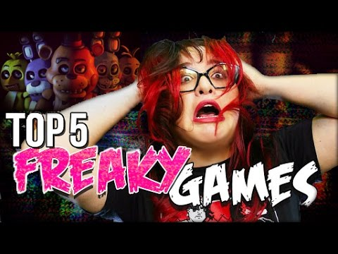 Top 5 Freakiest Jumpscare Video Games // Dark 5 | Snarled
