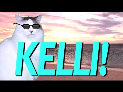 happy birthday kelli HAPPY BIRTHDAY KELLI!   EPIC CAT Happy Birthday Song   YouTube happy birthday kelli
