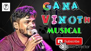 Kadhalichu Kazutharutha Kavithave    Cover Song    Gana Vinoth Old Song    Gana Vinoth Musical