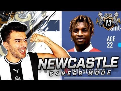 NEWCASTLES NEW TRANSFERS ARE AMAZING - FIFA 19 NEWCASTLE CAREER MODE 13