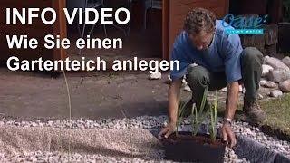 Gartenteichbau gartenteiche und koiteiche selber anlegen for Youtube gartenteich anlegen