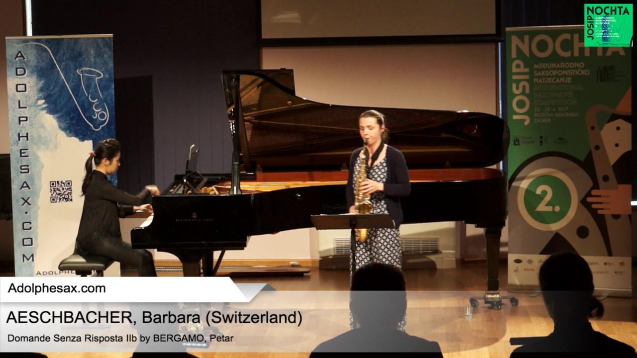 Domande senza risposta IIb by Petar Bergamo-  AESCHBACHER, Barbara (CH)