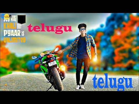 How to change photo Background with PicsArt || Telugu ||