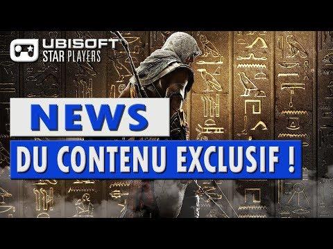 """📺 Assassin's Creed Origins : """" Du Contenu Exclusif ! """""""