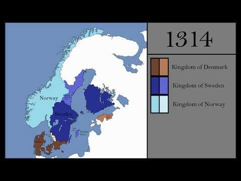 The History of Scandinavia (Every Year)