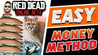 💰Easy Money💰 Method w/ Cougar, Trout, Pelican in Red Dead Online (NOT A GLITCH)