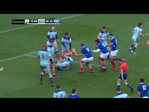 HIGHLIGHTS | Scotland V France