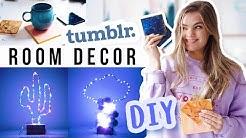 3 Tumblr DIY Room Deko Ideen für dein Zimmer! // I'mJette