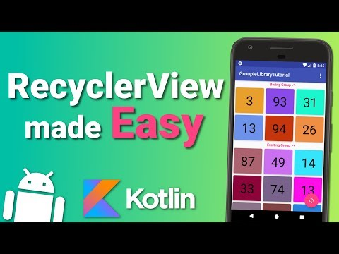 Create a Complex RecyclerView Quickly with Groupie Library