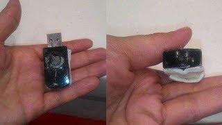 Wanita Ini Temukan Kamera Tersembunyi Berbentuk USB di Toilet Umum, saat Dicek Isinya Mengejutkan!