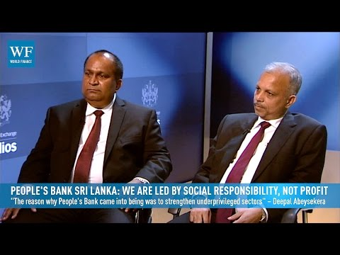 People's Bank Sri Lanka: We are led by social responsibility, not profit | World Finance