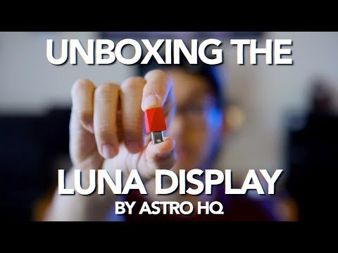 Unboxing the LUNA DISPLAY | A Kickstarter Project