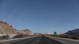 I-70 East (UT), San Rafael Reef, Exit 137 To Exit 157