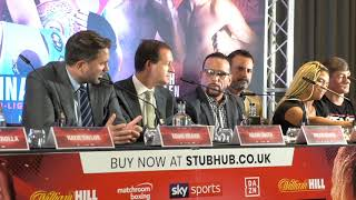 'DON'T BE CUTE EDDIE' - BRIAN COHEN & EDDIE HEARN GO BACK & FORTH OVER ONE-WAY REMATCH CLAUSE
