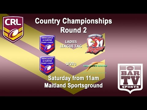 2018 Country Rugby League - U23s/LLT - Newcastle v Central Coast and Newcastle and Northern Rivers