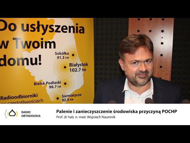 Palenie i zanieczyszczenie środowiska przyczyna POChP - prof. dr hab. Wojciech Naumnik