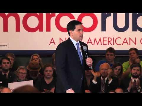 Marco Rubio Full Speech in Dallas, TX 01-06-2016