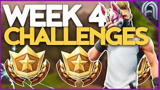 Fortnite Season 5 Week 4 Challenges Guide! Battle Pass Challenges!